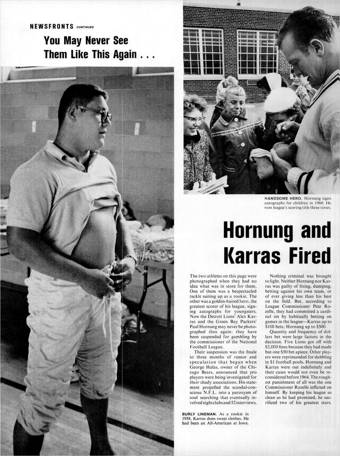 Paul hornung and alex karras gambling casino durban south
