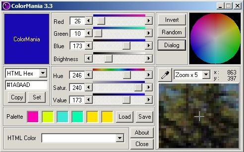 Программа ColorMania