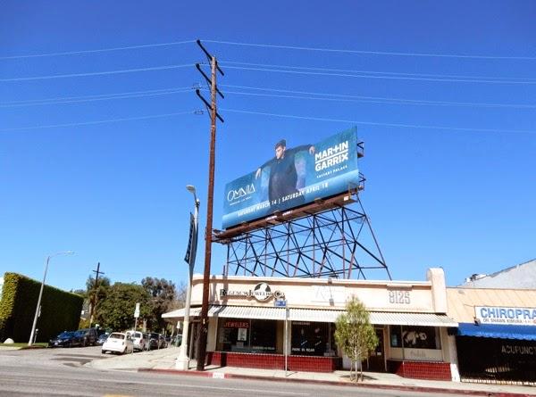 Omnia nightclub Martin Garrix billboard