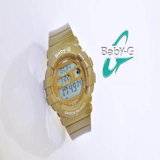 jam tangan keren CASIO BABYG BGD-140 BROWN