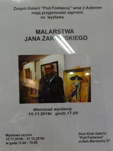 Wystawa Jana Żakowskiego