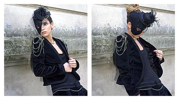 Viuda Negra otoño invierno 2012. Blog de moda.