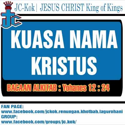 Renungan Kristen Kuasa Nama Kristus