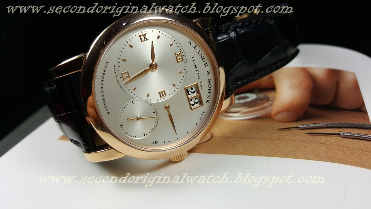 jual jam tangan second original tarik tunai kartu kredit sold a lange sohne lange 1. Black Bedroom Furniture Sets. Home Design Ideas