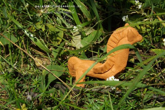 Керамические лшадки Мугур Молочный обжиг Блог Вся палитра впечатлений Ceramics Palette of impression blog