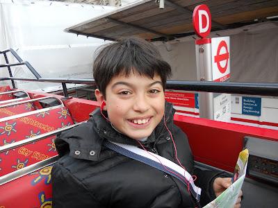 Luca Mameli Londra Bus