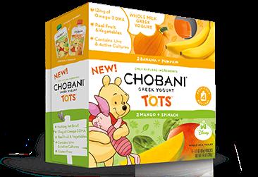 Chobani Kids & Tots Pouches