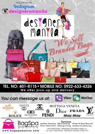Designer Bags from Designers Manila