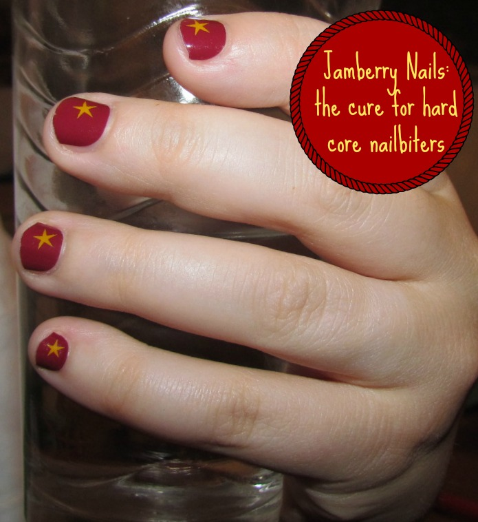 How I overcame my Nail Biting habit with Jamberry | Home Maid Simple