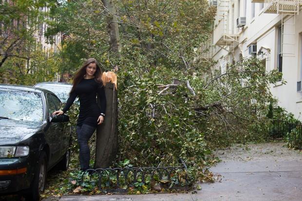 imagens, nana gouvea, furacão sandy, humor, nana gouvea registra em fotos estragos do furacão sandy em nova york