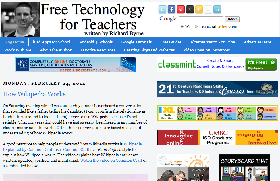 ED Tech for Teachers