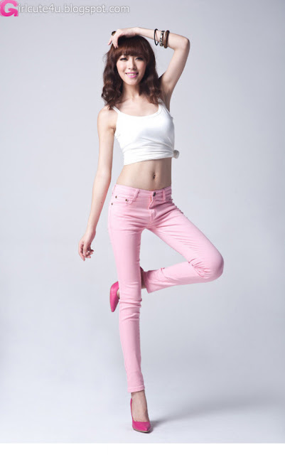 1 Zheng Junli - Shed the jeans-very cute asian girl-girlcute4u.blogspot.com