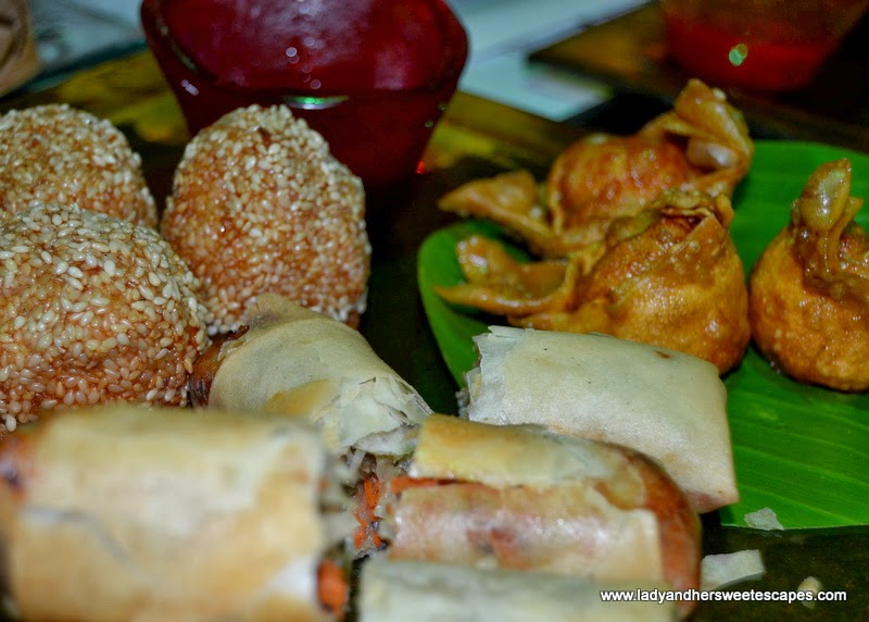 Chop Suey restaurant's assorted dim sum
