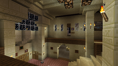 minecraft home hall different view