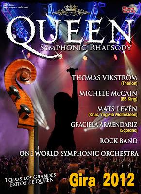 Queen Symphonic Rhapsody (Fechas)