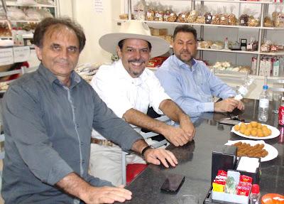 Airton Engster dos Santos, Neto Fagundes e Elmar Schneider