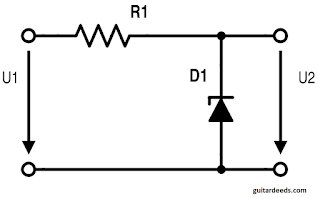 Zener diode circuit operating current series resistor voltage drop