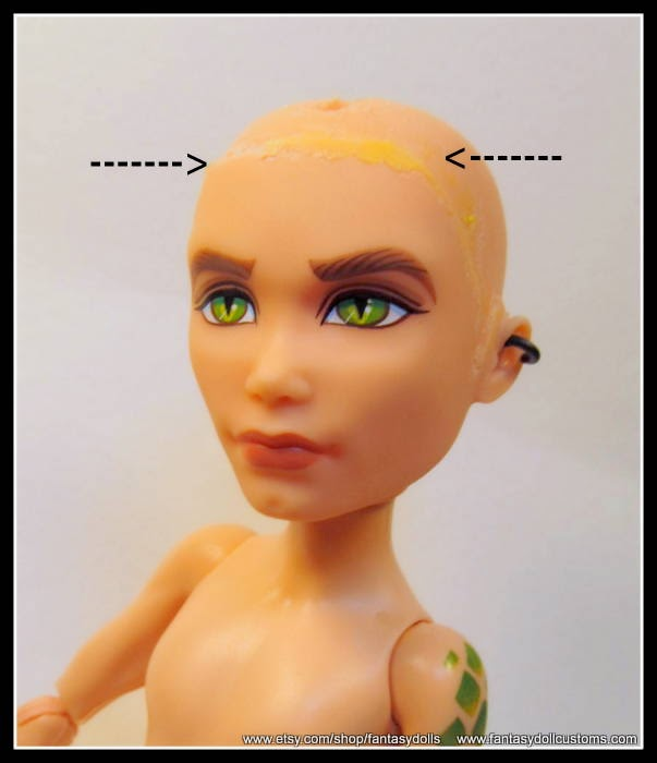 Doll Repainting And Customizing Tutorials How To Remove