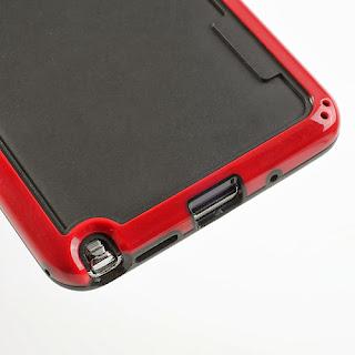 Hybrid Bumper Frame for Samsung Galaxy Note 3 III N9000 N9002 N9005 - Red