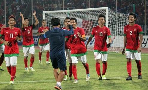 Timnas U19 vs Persiba Balikpapan