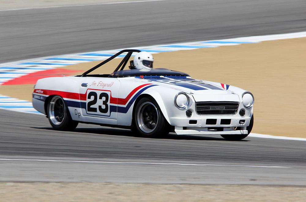 Datsun Sports, wyścigowe roadstery, samochody bez dachu, sport