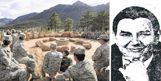 air force builds stone circle for pagan worship