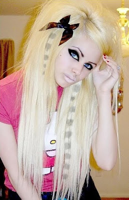 Bleach Blonde Hair