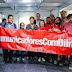 Presidenta recebeu o manifesto dos comunicadores com Dilma ontem em São Paulo