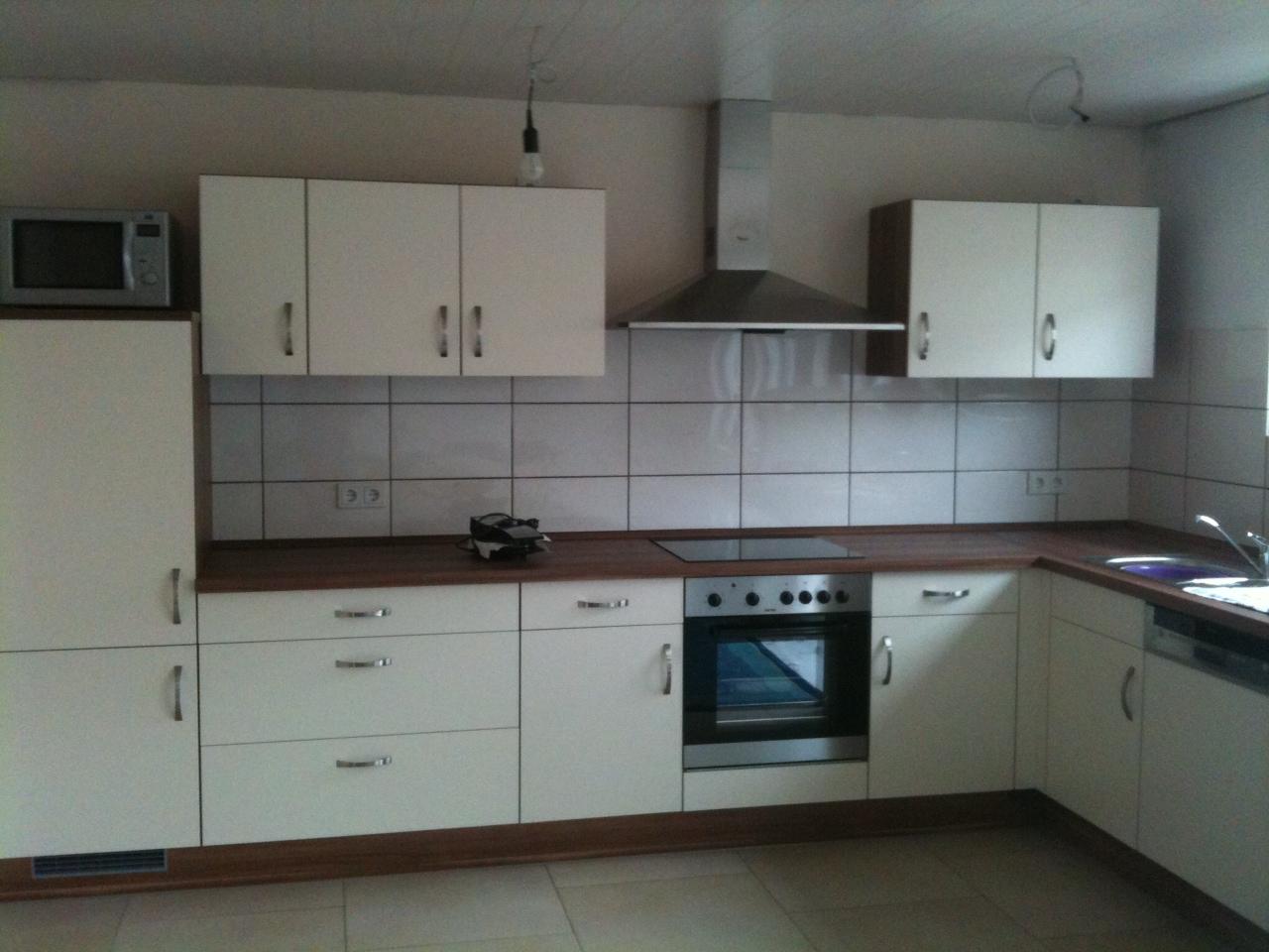 Wir bauten orange...Medley200 +Keller+WiGa: Die Küche für die ...