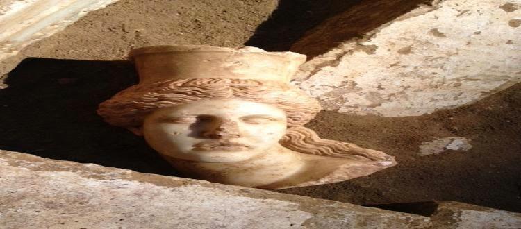 Αμφίπολη: Βρέθηκε το κεφάλι της Σφίγγας Εκπληκτικές φωτογραφίες!