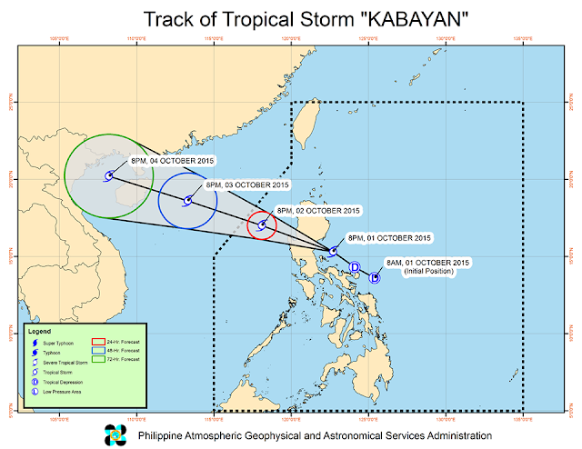 track bagyong kabayan