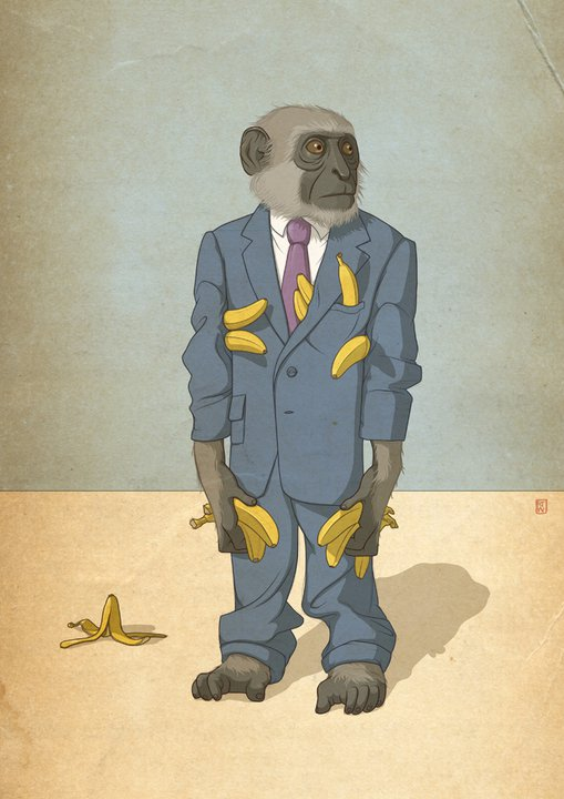 Doctor Ojiplatico. Richard Wilkinson. Editorial Illustration