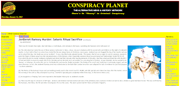 JonBenet Ramsey Murder CONSPIRACY: Satanic Ritual Sacrifice