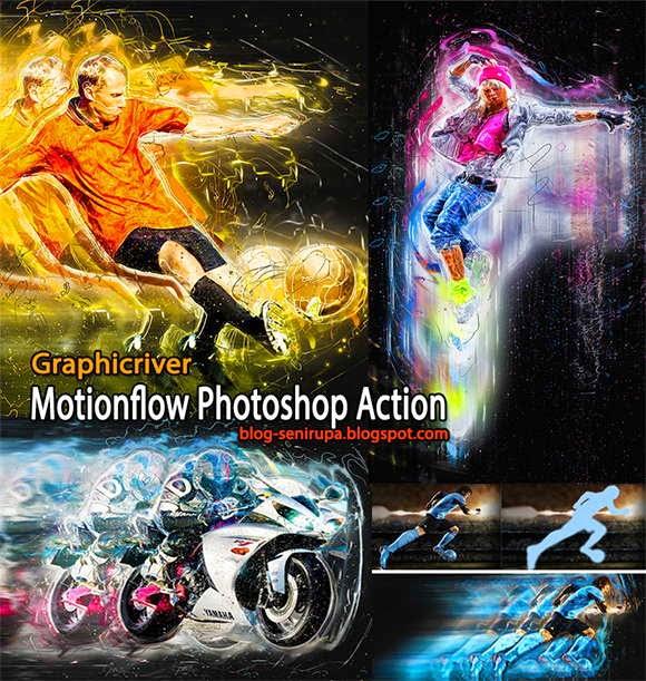 Graphicriver Motion Flow Photoshop Action