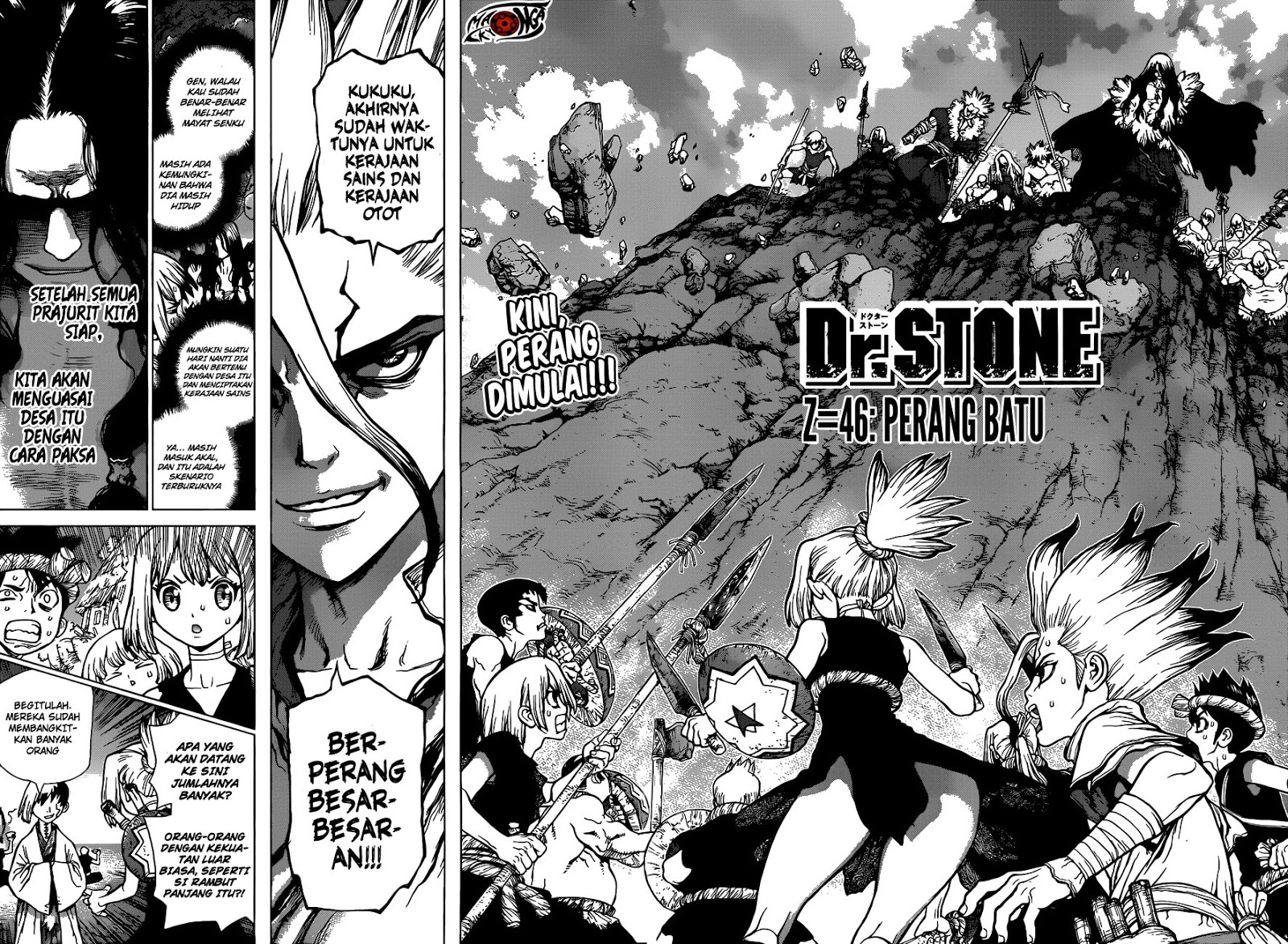 Dr. Stone Chapter 46-1