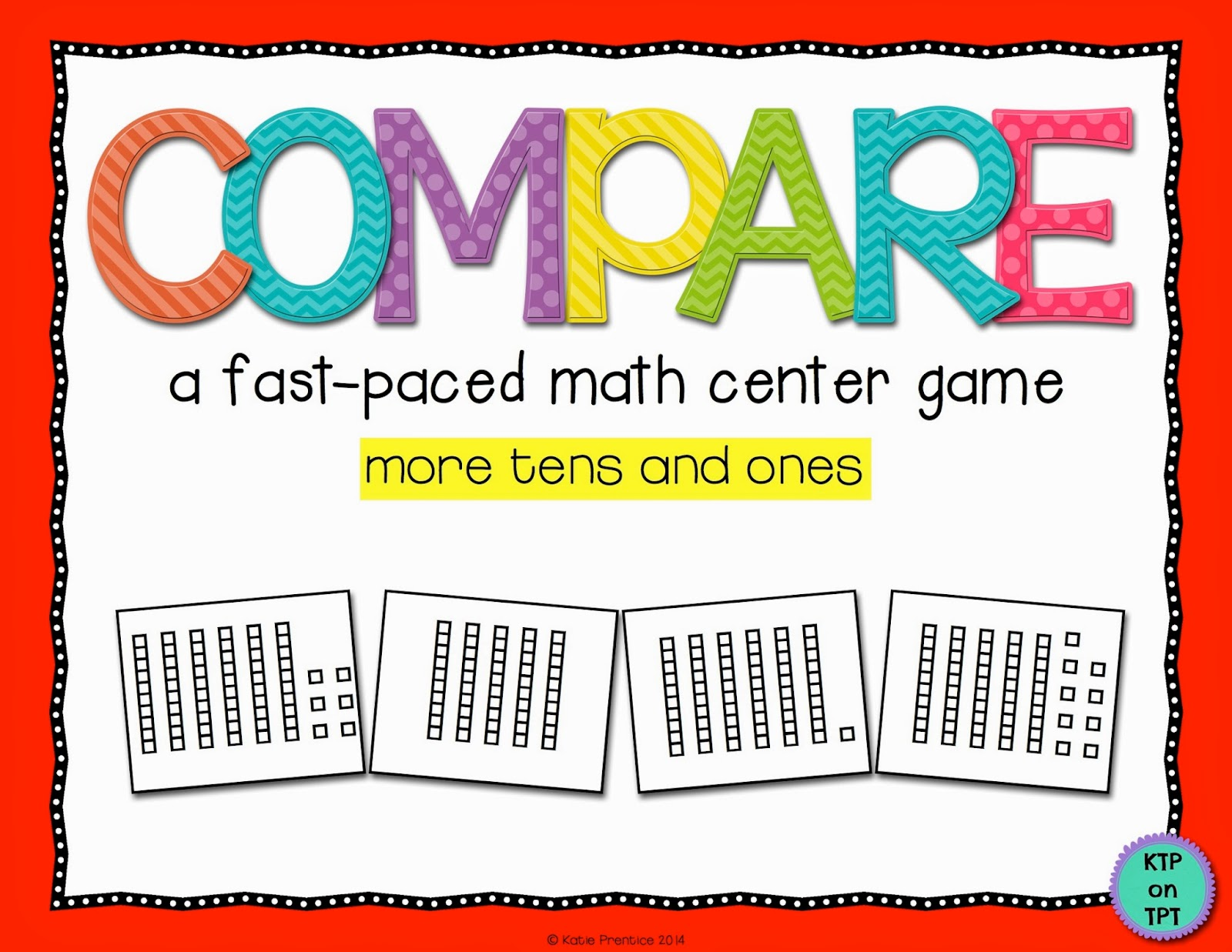http://www.teacherspayteachers.com/Product/Compare-MORE-tens-and-ones-game-for-math-centers-1142063