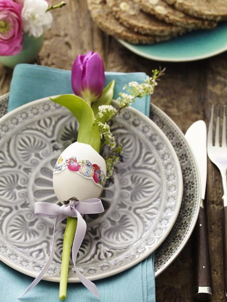 Chic Home Design And Decor Easter Decor Easter Table Decorating Ideas