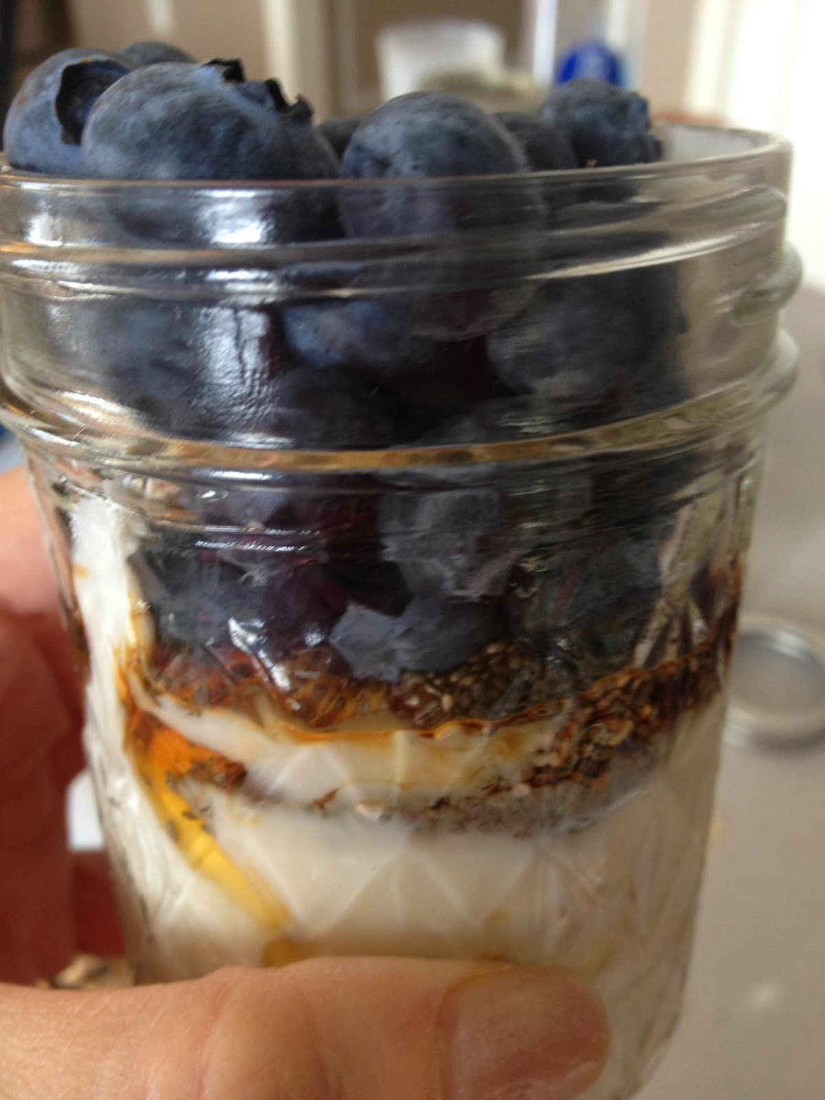 Blueberry Maple Overnight Oats