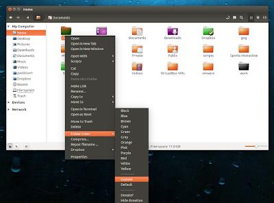 Folder Color Nemo
