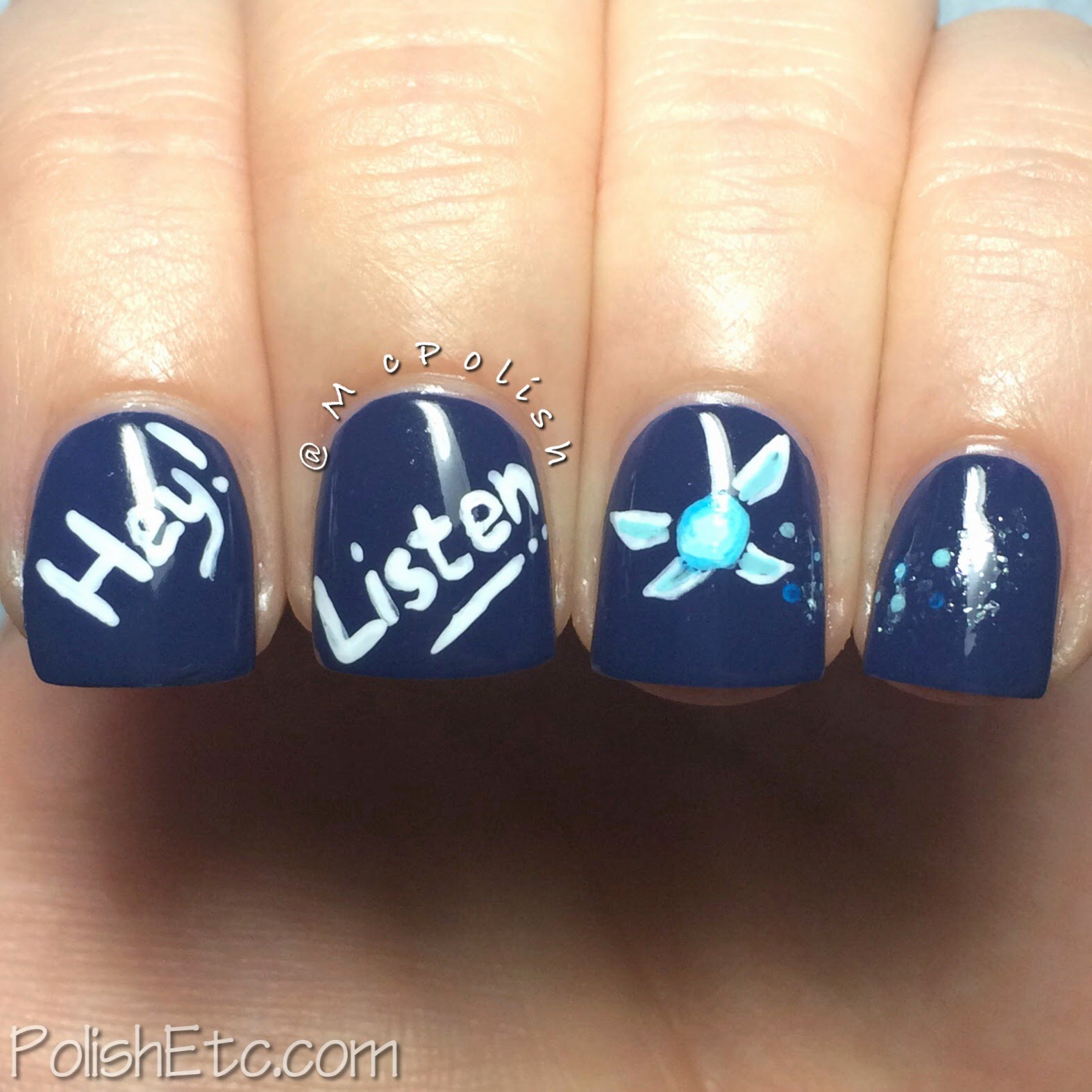 31 Day Nail Art Challenge -#31dc2014 - McPolish - SUPERNATURAL