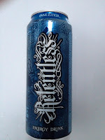 Energy Drink; blaue Dose