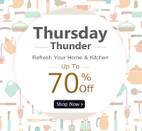 Homeshop18 Thursday Thunder Offer : Home And Kitchen upto 60% Off : Buytoearn