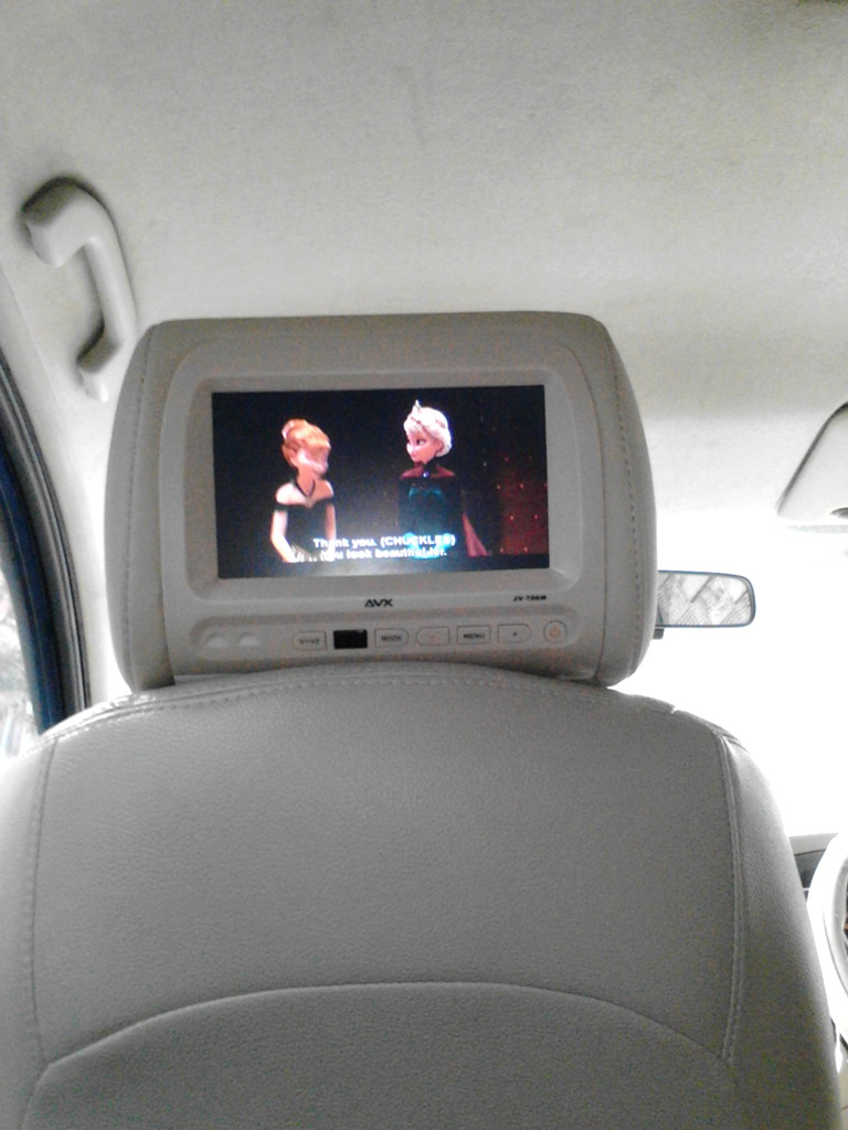 diy pasang headrest monitor di grand livina eltisatya newbie