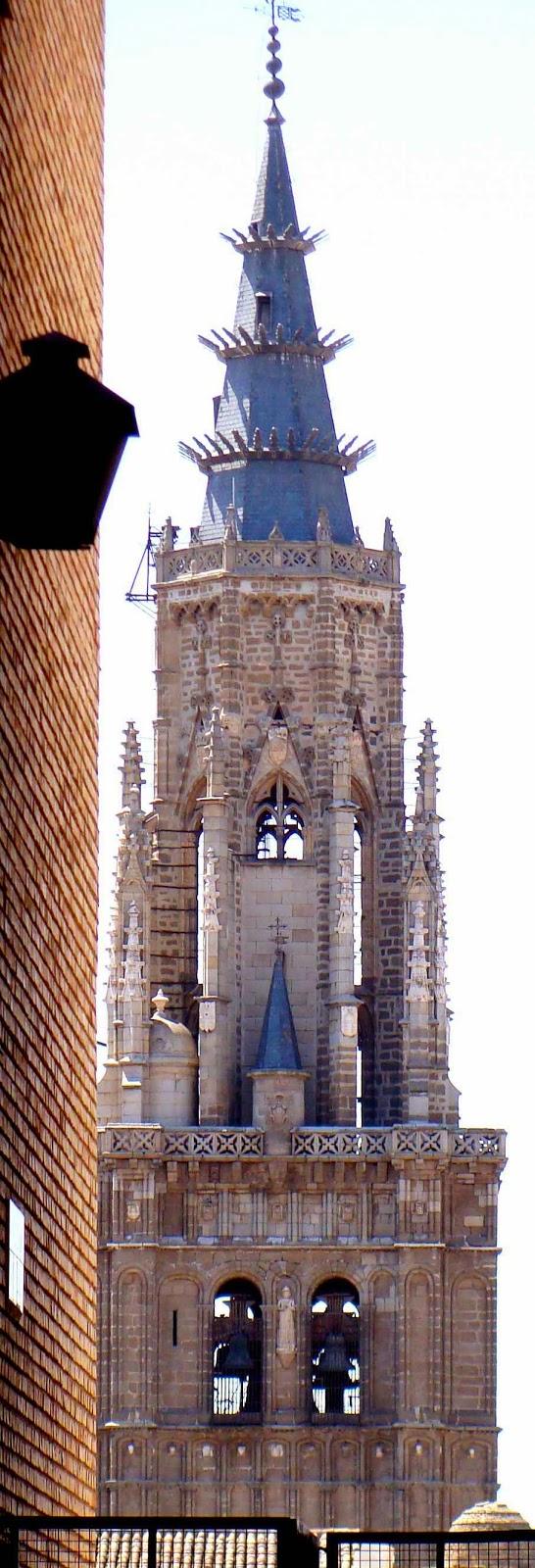 Campanário da catedral de Toledo, Espanha