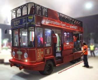 Bandros atau Bandung Tour on Bus