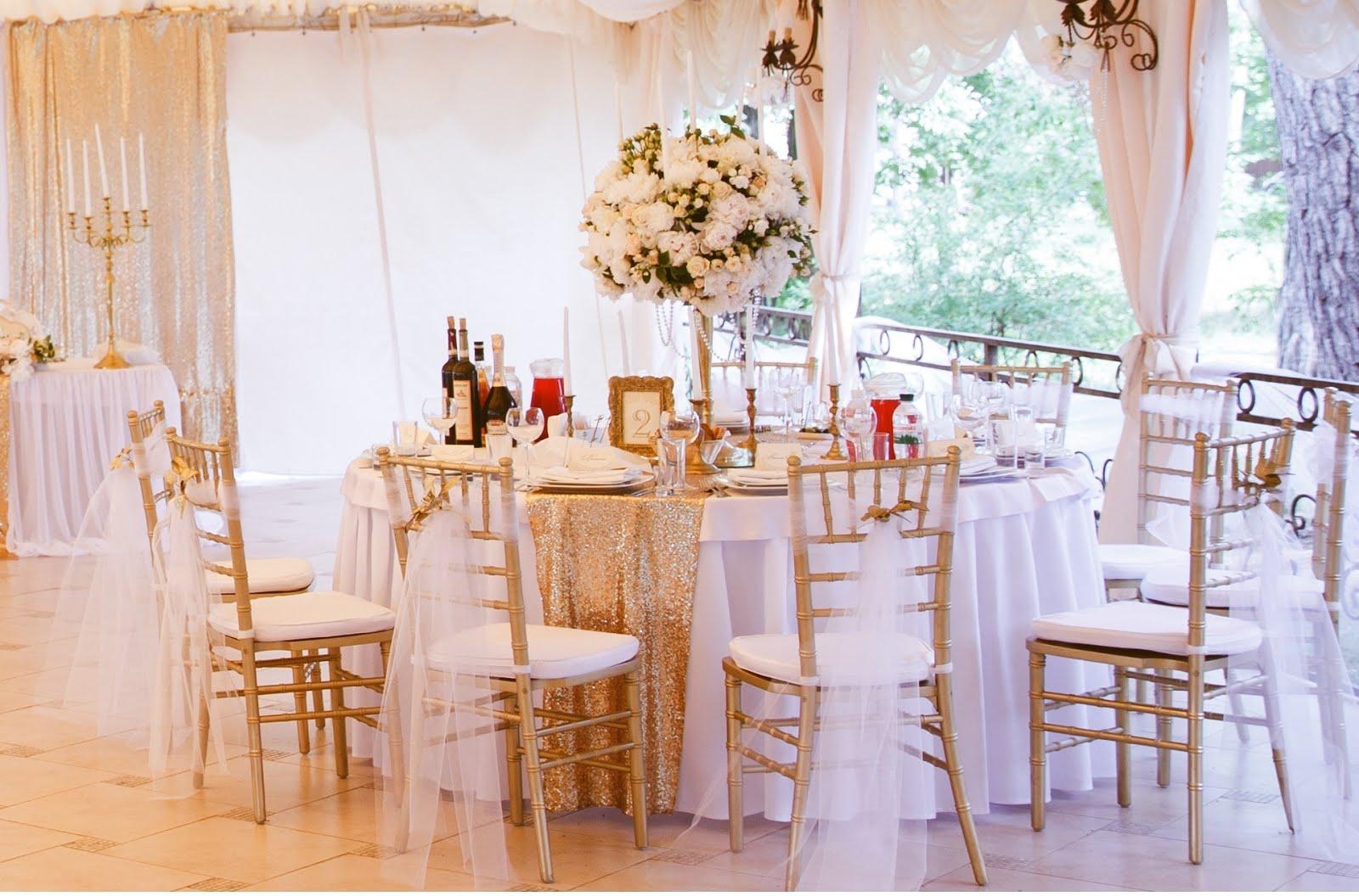 Свадьба в золотых пайетках. Шатёр в ресторане Три Мушкетёра