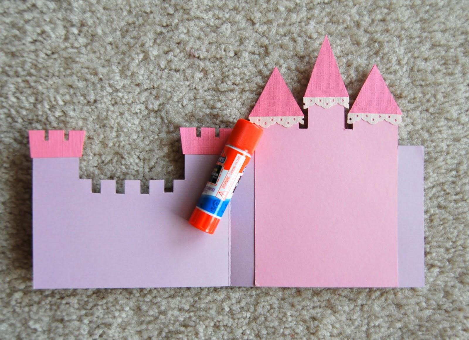 Замки из бумаги как сделать
