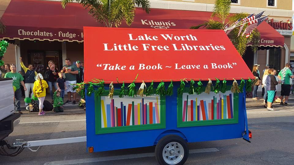 Vwazen Lake Worth yo! ~ Èske nou te pase nan Ti Bibliyotèk Gratis ki sou katye'nou an?