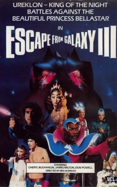 Chá de VHS - Escape from Galaxy III