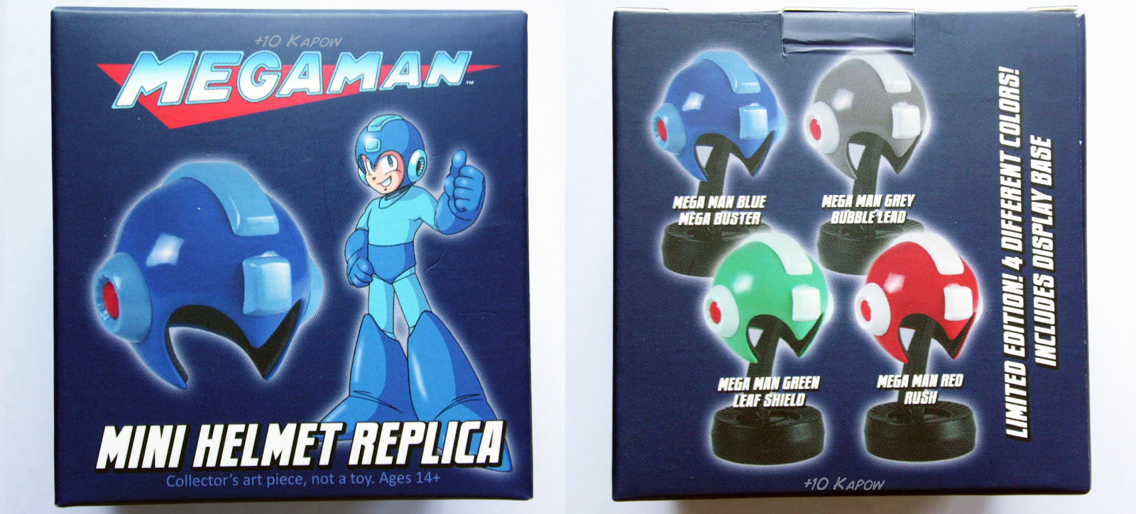 Loot Crate Exclusive Rush Red Megaman Mini Helmet Replica